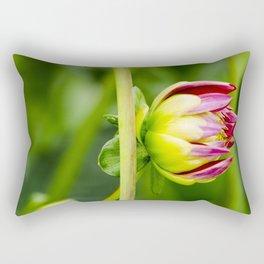 Karma Thalia Dahlia Pair of Buds Rectangular Pillow