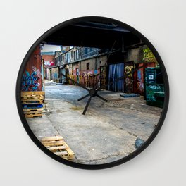 Mean Streets Wall Clock