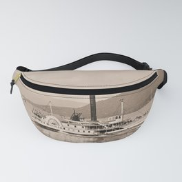 The Horicon I Steamboat (sepia) Fanny Pack