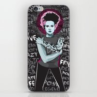 princess bride iPhone & iPod Skins featuring Bride by Matt Fontaine