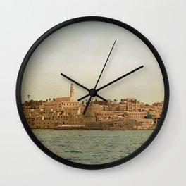 Jaffa from the Sea Wall Clock