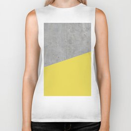 Concrete and Meadowlark Color Biker Tank