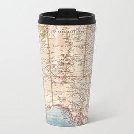 Australian Topography Map (1905) Travel Mug
