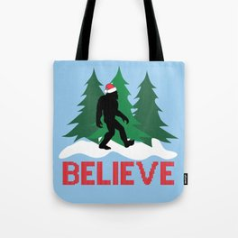 Cryptid Christmas Miracle Tote Bag