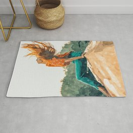 Live Free #painting Rug