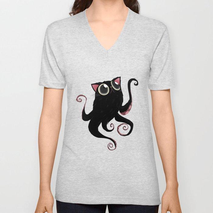 Kittypus Unisex V-Neck