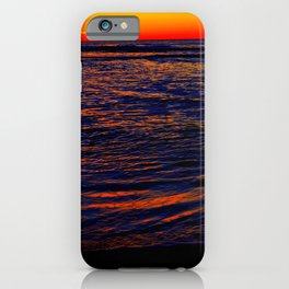 Red Wrinkles iPhone Case