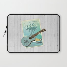 Life is better with an ukulele Laptop Sleeve