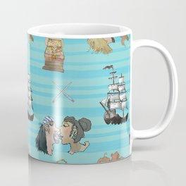 Celebration on Board - Turquoise Coffee Mug