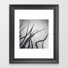 Extending Ends Framed Art Print