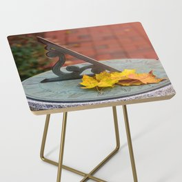 Sun Clock Side Table
