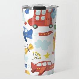 Kids Air Transportation Travel Mug