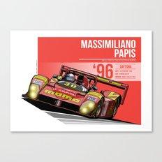 Massimiliano Papis - 1996 Daytona Canvas Print