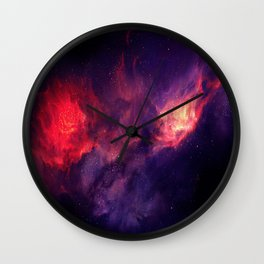Fire Cosmo Wall Clock
