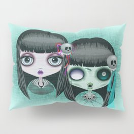Zombie Doll The Dark Side Pillow Sham