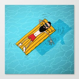 Chill Out. Do Nothing. Canvas Print