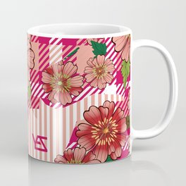 All Over Print Vintage Baroque Gentility Seamless Pattern Coffee Mug