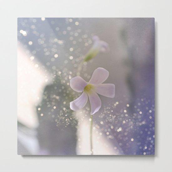 Pastel vibes floral Metal Print