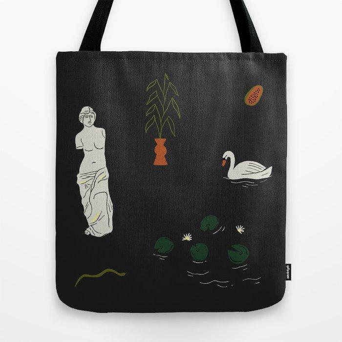 Water Lily Venus Tote Bag