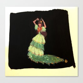 Flamenca! Canvas Print