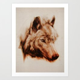 The Wolves Art Print