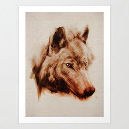 The Wolves Art Print