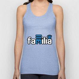 Familia - Blue Unisex Tank Top