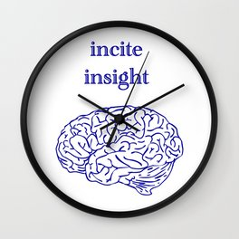 incite insight Wall Clock