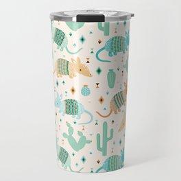 armadillo & cactus Travel Mug