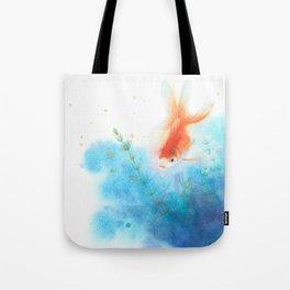 watercolour goldfish 3 Tote Bag