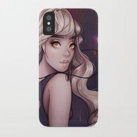 cyarin iPhone & iPod Cases featuring Sirene by Cyarin