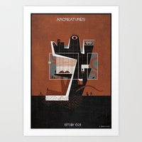 021_ARCREATURES-01 Art Print