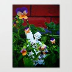 Floral Fae Canvas Print