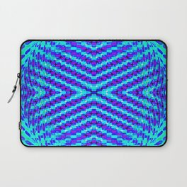 FLUX #5  Optical Illusion Vibrant Colorful Psychedelic Trippy Design Laptop Sleeve