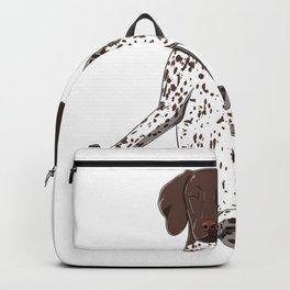 Yoga German Shorthair Pointer Backpack