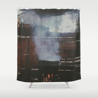 cooking Shower Curtains featuring Home cooking  by Chase Hunter