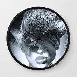 Wave girl Wall Clock