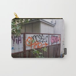 Graffiti Fence Art Carry-All Pouch
