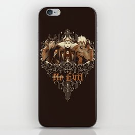 Three Wise Villains iPhone Skin