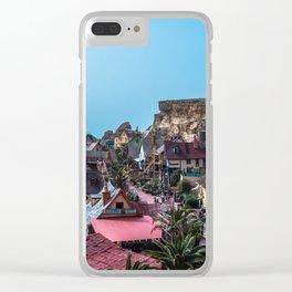 Popeye's Village Clear iPhone Case