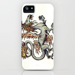 Draca ignis (clean version) iPhone Case