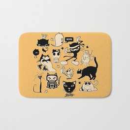 Cat Menagerie Bath Mat