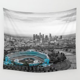 Los Angeles Skyline Wall Tapestry