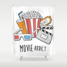 Movie Addict Shower Curtain