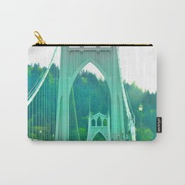 St. Johns Bridge Portland Oregon Carry-All Pouch