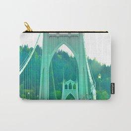 St. Johns Bridge Portland Oregon Carry-All Pouch