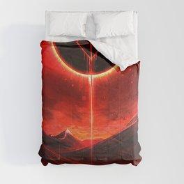 Berserk Demon Mark Moon Comforters