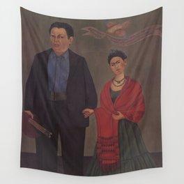 Frida Kahlo Frieda and Diego Rivera Wall Tapestry
