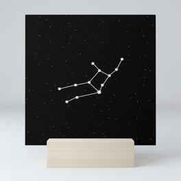 Virgo Star Sign Night Sky Mini Art Print
