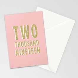 Two Thousand Nineteen Stationery Cards